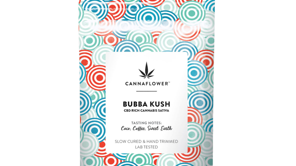 Cannaflower%E2%84%A2 Bubba Kush Bag scaled