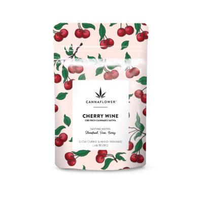 Cannaflower™ Cherry Wine Bag