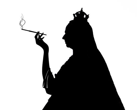 Queen Smoking