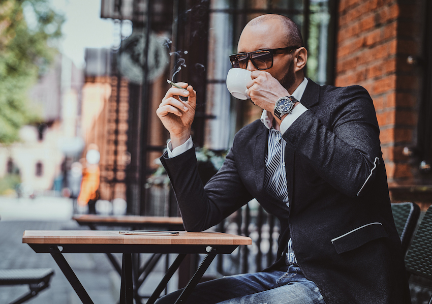 Cannaflower Business Preroll Smoke