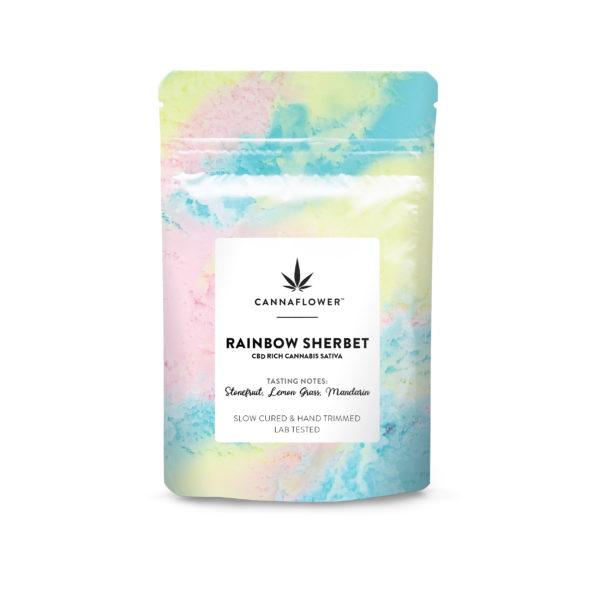 Cannaflower Rainbow Sherbet