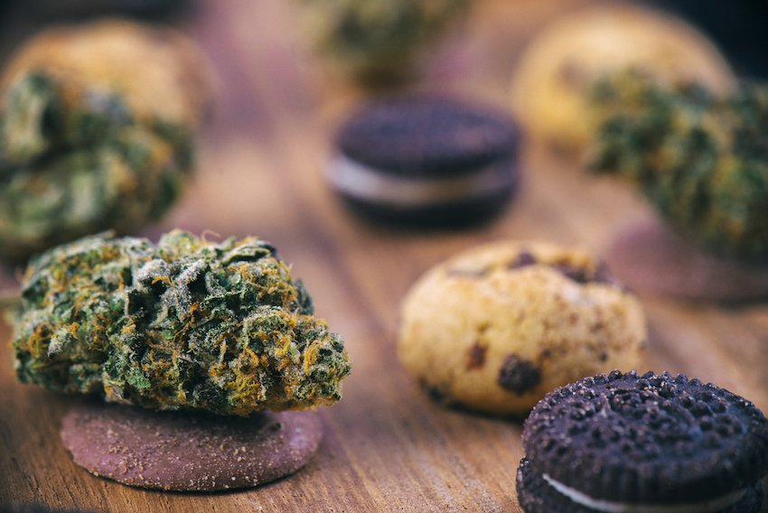 cannabis edibles with unwanted high