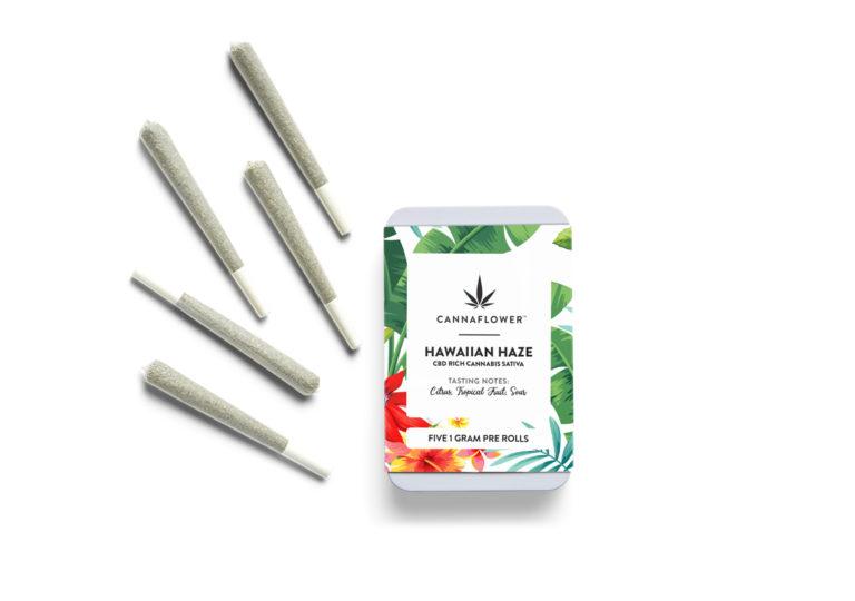 Cannaflower Hawaiian Haze 5 Pack Effects at a glance