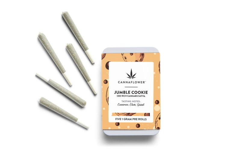 Cannaflower Jumble Cookie 5 Pack At a Glance
