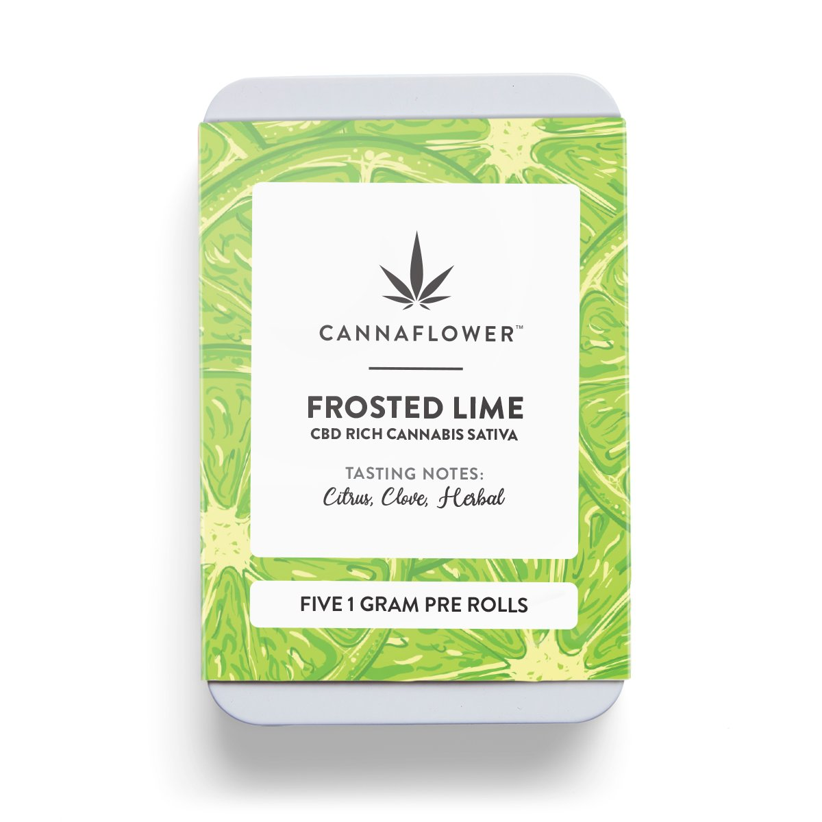 Cannaflower Frosted Lime 5 Pack