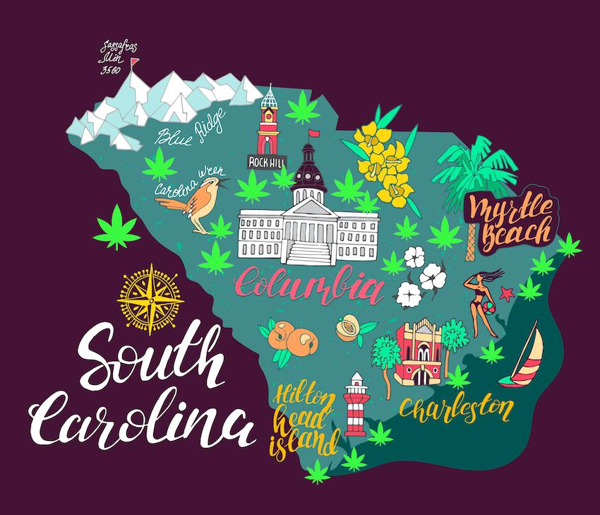 South Carolina Hemp Flower Legality After The 2018 US Farm Bill