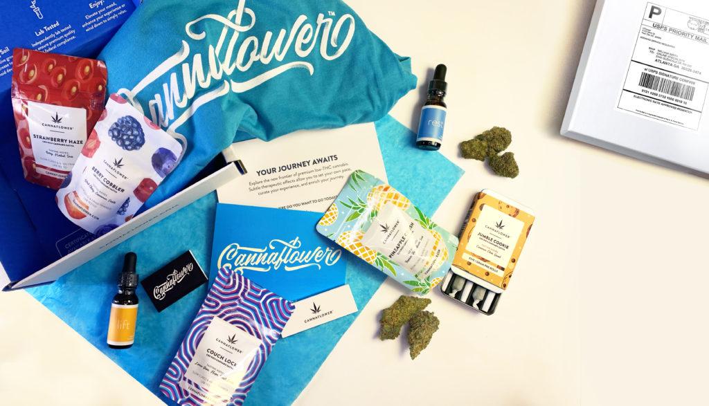 Cannaflower Subscription Box at a glance