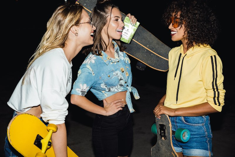 Cannaflower Remedy skater girls Relax without paranoia, many customers find high CBD to reduce panic attacks