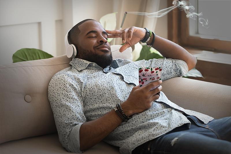 Cherry Wine relax